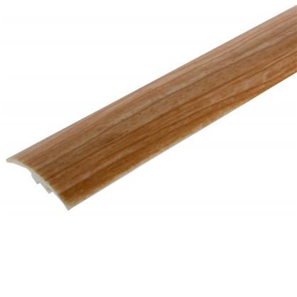 Профиль напольный гибкий 3 м цвет ясень