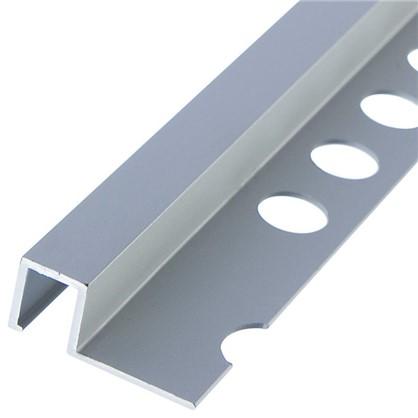 Профиль окантовочный 1x270 см цвет серебро