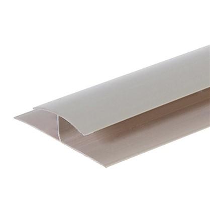 Профиль ПВХ Artens соединительный т8/10 мм 3 м цвет бежевый