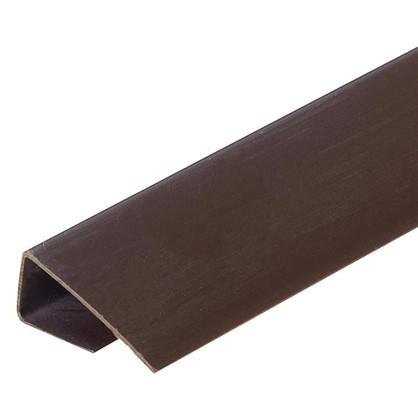Профиль ПВХ Artens т8/10 мм 3 м цвет коричневый