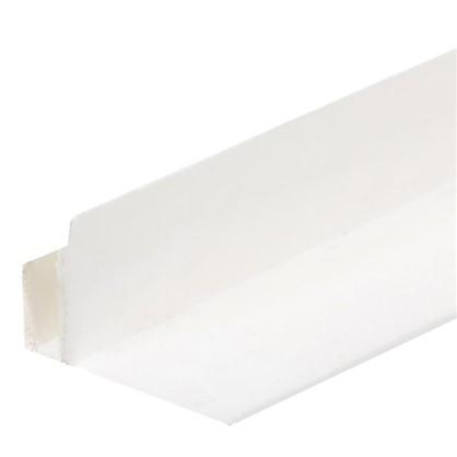 Профиль ПВХ F-образный для панелей 5 мм 3000 мм цвет белый