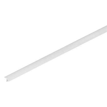 Профиль ПВХ T-образный для панелей 8 мм 3000 мм цвет белый
