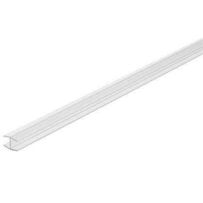 Профиль соединительный Н-образный для стеновой панели 60х0.4 см пластик