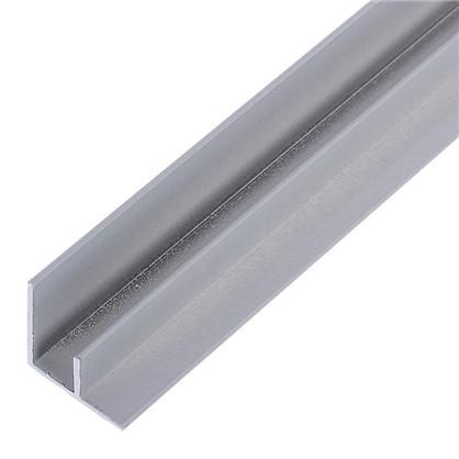 Профиль угловой F-образный для стеновой панели 60х0.6 см алюминий