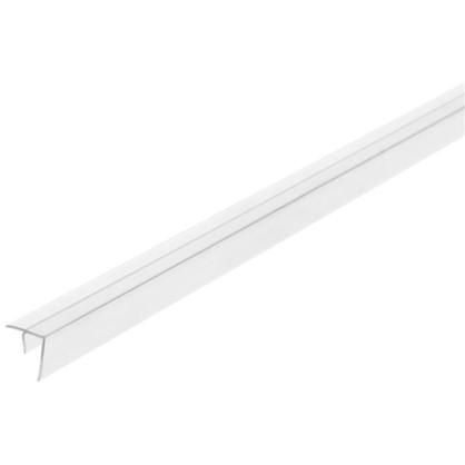 Профиль угловой F-образный для стеновой панели 60х0.6 см пластик