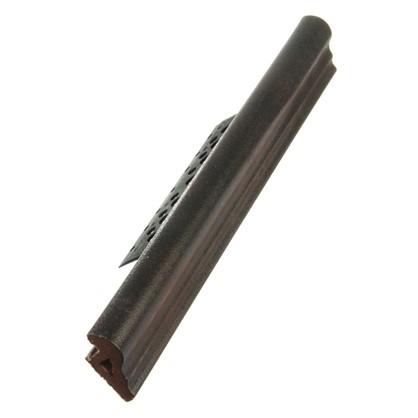 Профиль закладной №202 для ступени 5х36 см цвет коричневый