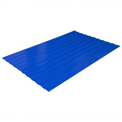 Профнастил С8 1.18x2 м с полиэстеровым покрытием 035 мм цвет синий