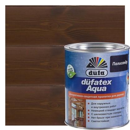 Пропитка для дерева водная цвета палисандр Dufatex aqua 0.75 л