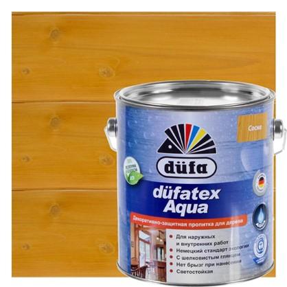 Пропитка для дерева водная цвета сосна Dufatex aqua 2.5 л