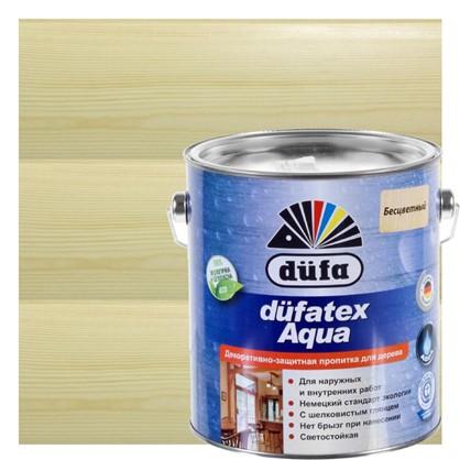 Пропитка для дерева водная прозрачная Dufatex aqua 2.5 л