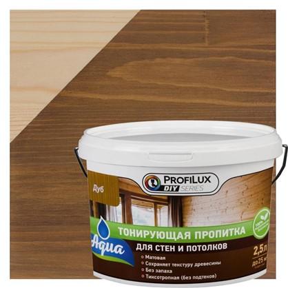 Пропитка для стен и потолка 2.5 л цвет дуб