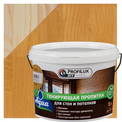 Пропитка для стен и потолка 5 л цвет сосна
