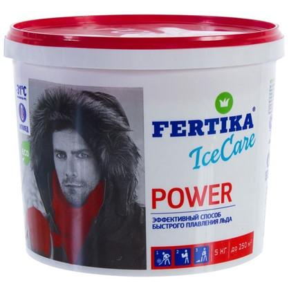 Противогололёдное средство Фертика Ice Care Power 5 кг в