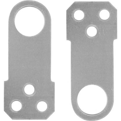 Проушина для замка прямая 70х30х1.2 мм оцинкованная сталь