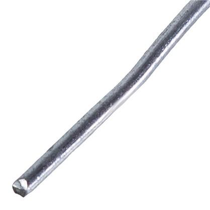 Проволока 1.1 мм 50 м сталь оцинкованная