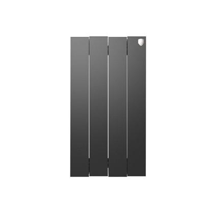 Биметаллический радиатор Royal Thermo Pianoforte 500/4 Noir Sable