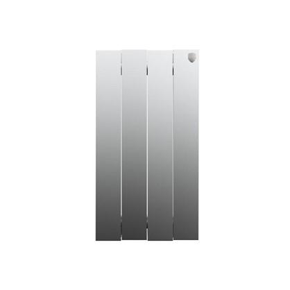 Биметаллический радиатор Royal Thermo Pianoforte 500/4 Silver Satin