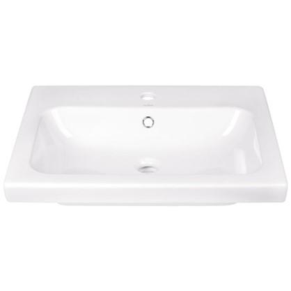 Раковина для ванной Colour керамика 60 см цвет белый