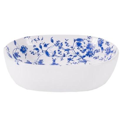 Раковина для ванной накладная Melbourne с рисунком керамика 34 см