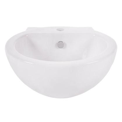 Раковина для ванной Sanita Luxe Art фарфор 48 см цвет белый