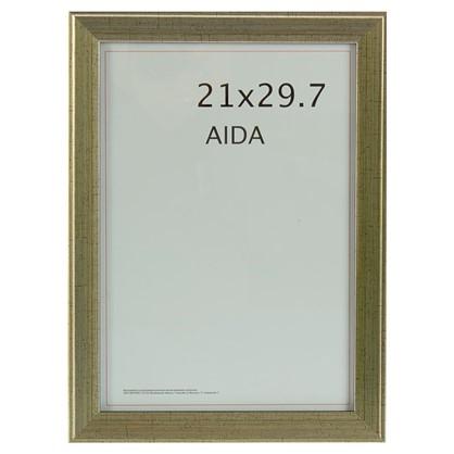 Рамка Aida 21х29.7 см цвет серебро с патиной