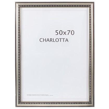 Рамка  Charlotta цвет серебро размер 50х70