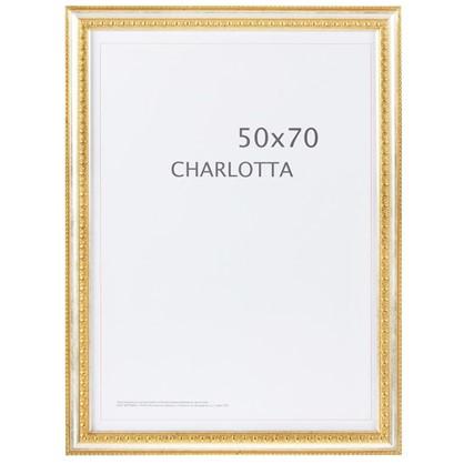 Рамка  Charlotta цвет золото размер 50х70