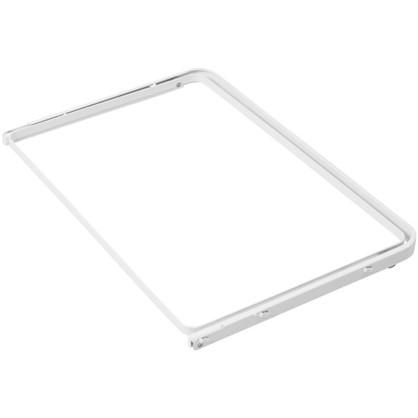 Рамка для корзины выдвижная НСХ 25x549x373 мм цвет белый