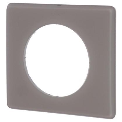 Рамка для розеток и выключателей Celiane 2 1 пост цвет перкаль грэй