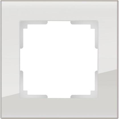 Рамка Favorit 1 пост стекло цвет дымчатый