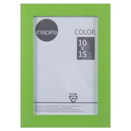 Рамка Inspire Color 10х15 см цвет зеленый