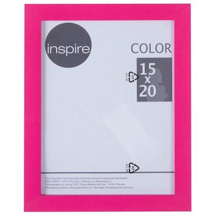 Рамка Inspire Color 15х20 см цвет фуксия