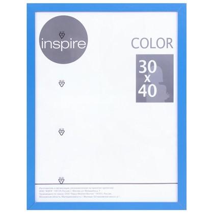 Рамка Inspire Color 30х40 см цвет синий