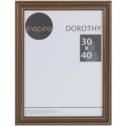 Рамка Inspire Dorothy цвет коричневый размер 30х40