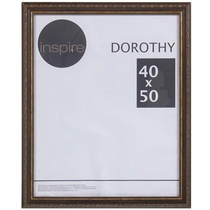 Рамка Inspire Dorothy цвет коричневый размер 40х50