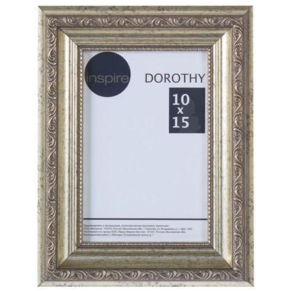Рамка Inspire Dorothy цвет серебряный размер 10х15