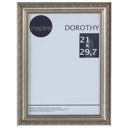 Рамка Inspire Dorothy цвет серебряный размер 21х297