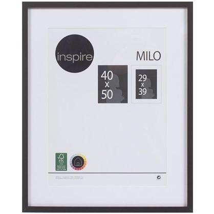 Рамка Inspire Milo 40х50 см цвет черный