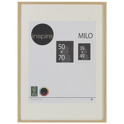 Рамка Inspire Milo 50х70 см цвет дуб