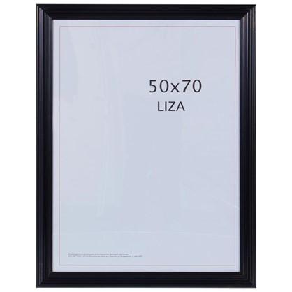 Рамка Liza цвет черный размер 50х70