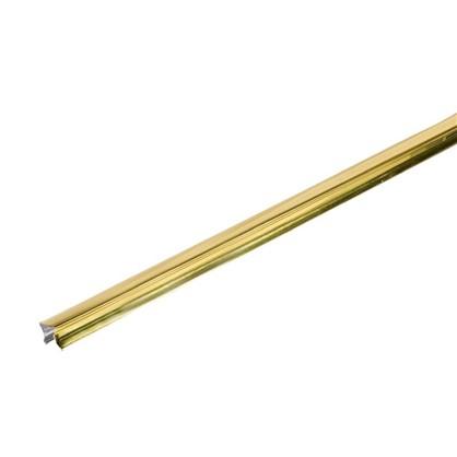 Раскладка 16x3000 мм цвет золото 2 шт.