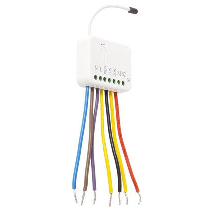 Реле для двухклавишного выключателя Rubetek evo 869 МГц IP20