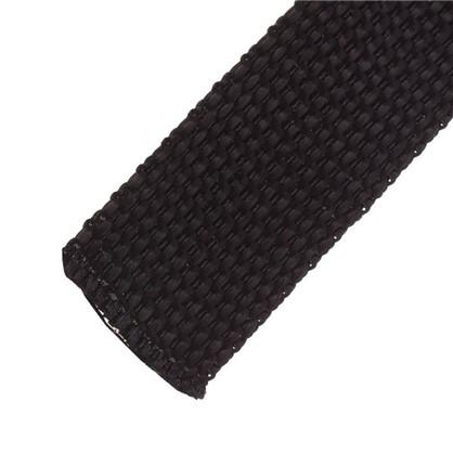 Ремень 25 мм 5 м полипропилен цвет черный