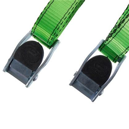 Ремень Standers 25 мм 2.5 м полиэстер цвет зеленый 2 шт.