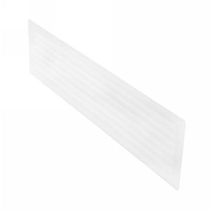 Решетка дверная вентиляционная Вентс МВ 450/2 124x462 мм цвет белый
