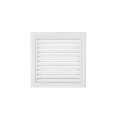 Решетка вентиляционная Вентс МВ 100 с 154х154 мм цвет белый