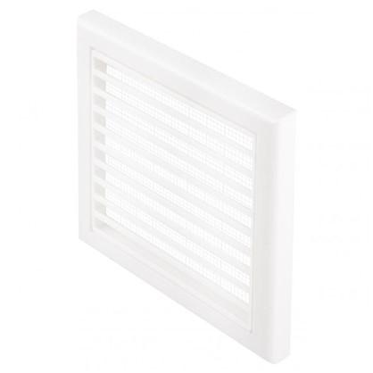 Решетка вентиляционная Вентс МВ 100 Вc 154x154 мм цвет белый