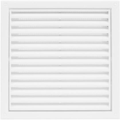 Решетка вентиляционная Вентс МВ 120 с 186x186 мм цвет белый