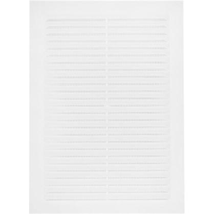 Решетка вентиляционная Вентс МВ 125 -1с 170x238-1 мм цвет белый