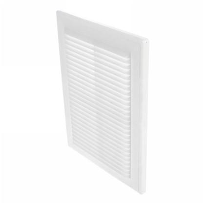Решетка вентиляционная Вентс МВ 125 с 182x251 мм цвет белый